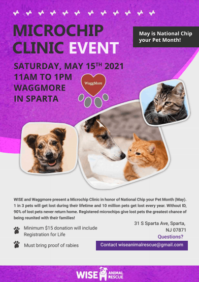 Microchip Clinic Event
