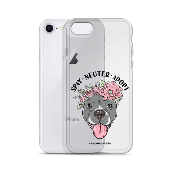 Flower Beluga Spay Neuter Adopt iPhone Case 3