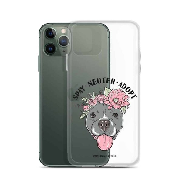 Flower Beluga Spay Neuter Adopt iPhone Case 8