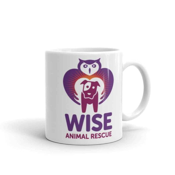 Wise Animal Rescue Small Coffee Mug 1