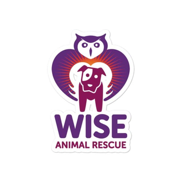 Wise Animal Rescue Sticker 1