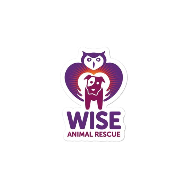Wise Animal Rescue Sticker 2