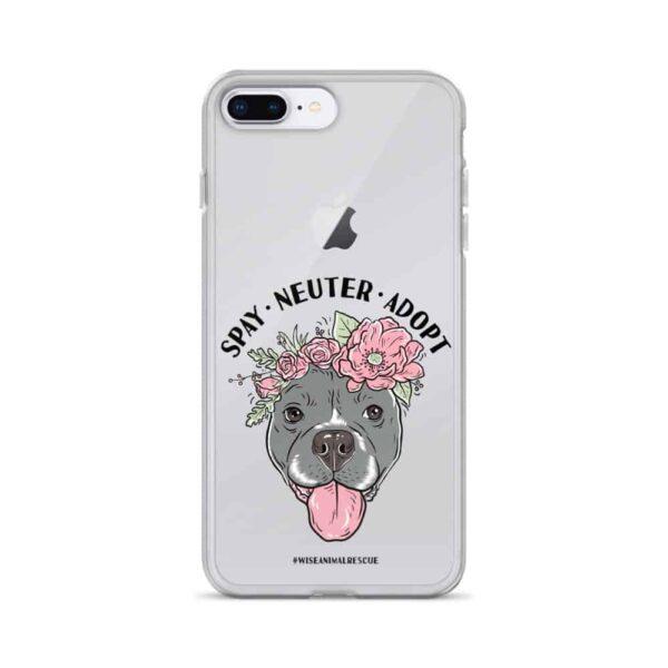 Flower Beluga Spay Neuter Adopt iPhone Case 5