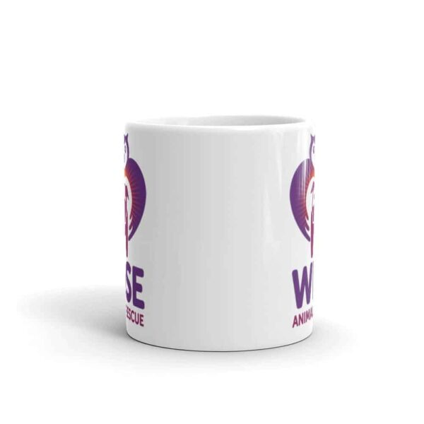 Wise Animal Rescue Small Coffee Mug 2