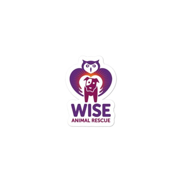 Wise Animal Rescue Sticker 3