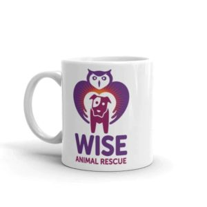 Wise Animal Rescue Small Coffee Mug 3