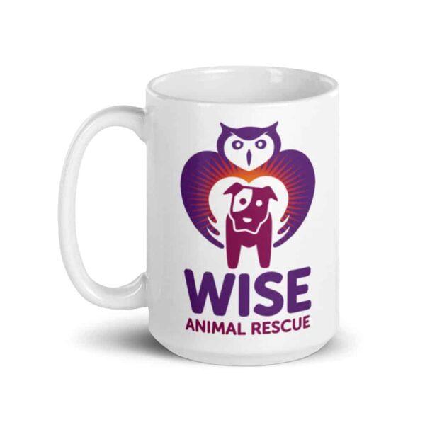 Wise Animal Rescue Large Coffee Mug 2