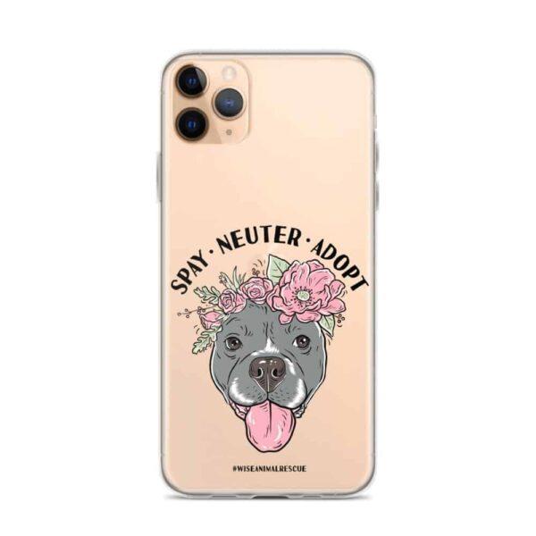 Flower Beluga Spay Neuter Adopt iPhone Case 7